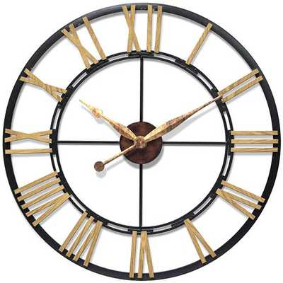 ENZO WALL CLOCK - Home Decorators