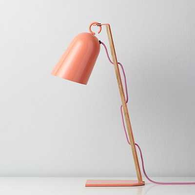 Pink Mixed Media Table Lamp - Land of Nod