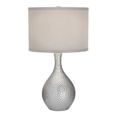 Nicolette Table Lamp with Drum Shade - Wayfair