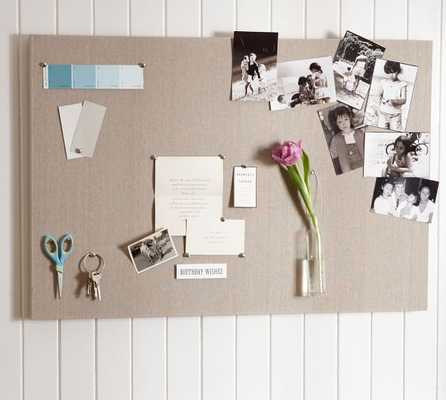 Linen Pinboard - Small - Pottery Barn
