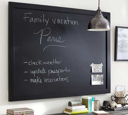 Framed Chalkboard - Small, Black - Pottery Barn