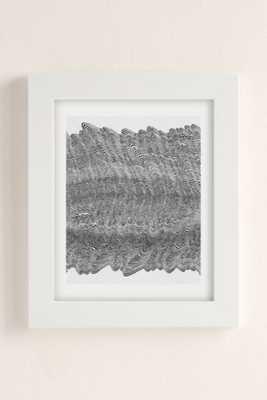 """Caitlin Foster Scratch Mark Art Print - 18"""" x 24"""" - Framed - Urban Outfitters"""