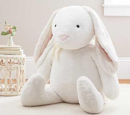 Extra-Large Jumbo White Bunny Plush - Pottery Barn Kids
