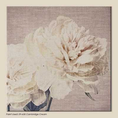 Harrogate Petals Graphic Art on Wrapped Canvas - Wayfair