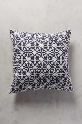 John Robshaw Mihir Pillow - 26x26 - down fill - Anthropologie