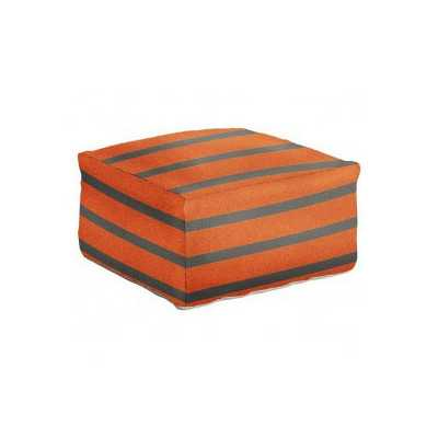 Stripped Pouf - Wayfair