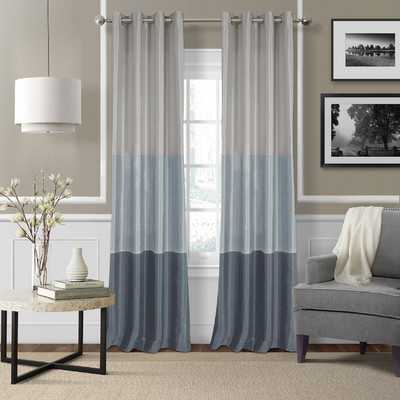 Trio Chic Window Curtain Panel - Wayfair