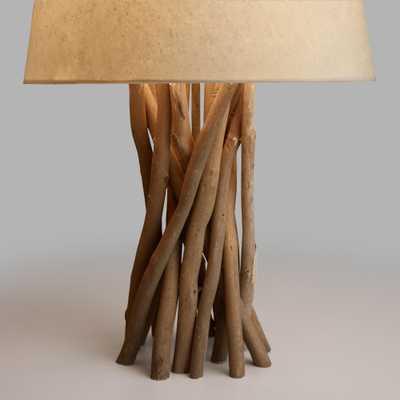Driftwood Table Lamp Base - World Market/Cost Plus