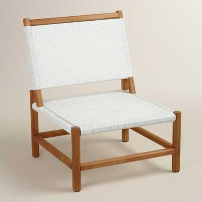 Wood Sirmione Outdoor Chair Set of 2 - World Market/Cost Plus