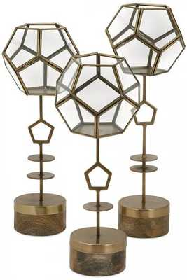 JADA TERRARIUM STANDS - SET OF 3 - Home Decorators