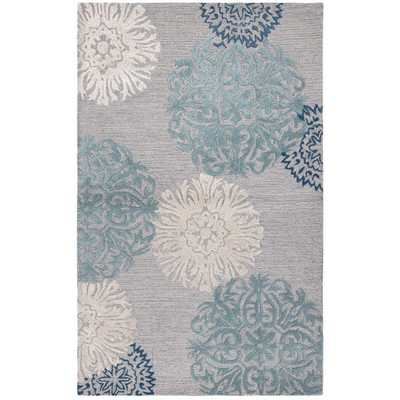 Hand-Tufted Accent Rug (5' x 8') - Overstock