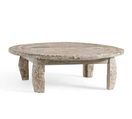 BULLOCK CART WHEEL COFFEE TABLE - Pottery Barn
