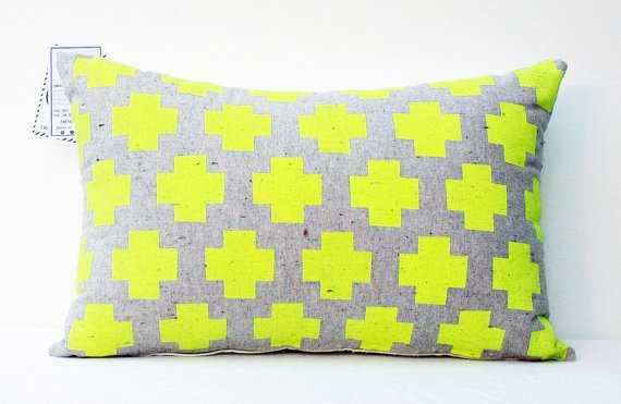 Me Plus You -neon throw pillow customizable size - Etsy