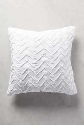 "Textured Chevron Euro Sham - 26"" square - Anthropologie"