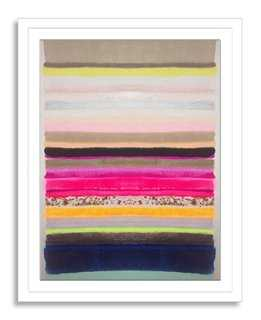 Kristi Kohut, Stripes 35 - 19x24 - Framed - One Kings Lane