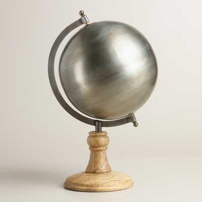Metal Globe with Wood Stand - World Market/Cost Plus