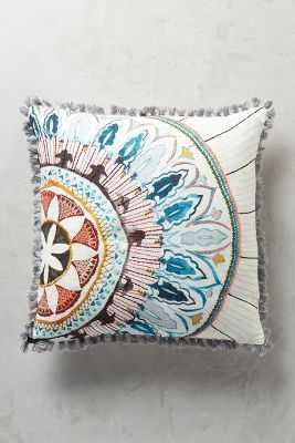 "Seraphita Pillow- 18""x18""-Multi- Polyfill insert - Anthropologie"