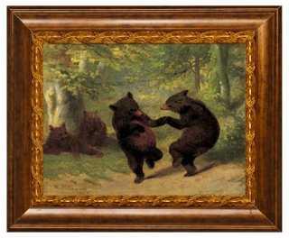William H. Beard, Dancing Bears 32x40 framed - One Kings Lane