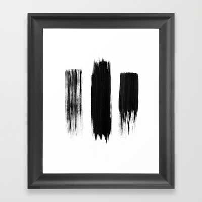 "FRAMED ART PRINT/ SCOOP BLACK MINI (10"" X 12"") - Society6"