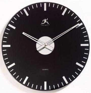TIMEPIECE - MIRRORED CLASS WALL CLOCK - Home Decorators
