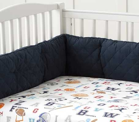 Liam Sports Nursery Bedding Set - Pottery Barn Kids