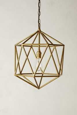 Euclidean Pendant - Brown, Small - Anthropologie