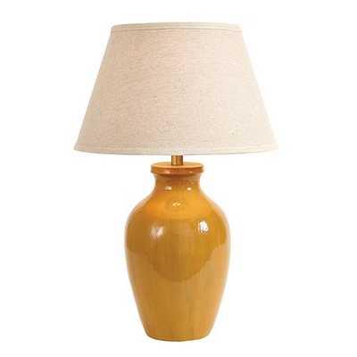 Luciana Table Lamp-Mustard - Ballard Designs