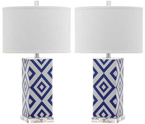 DIAMONDS TABLE LAMPS - SET OF 2 - Home Decorators