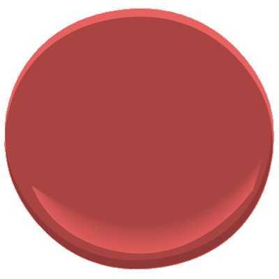Benjamin Moore Moroccan Red Paint - Benjamin Moore