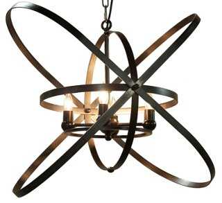 Sassari 4-Light Pendant, Bronze - One Kings Lane