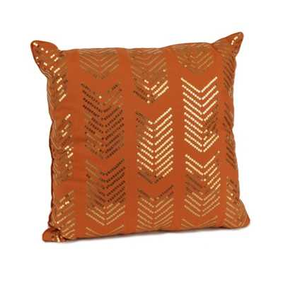 Spice Hadara Sequin Arrow Pillow - kirklands.com