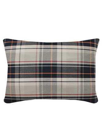 Preppy Plaid Lumbar Throw Pillow - High Street Market