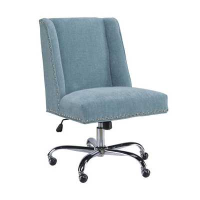 Oh! Home Violet Office Chair - Overstock