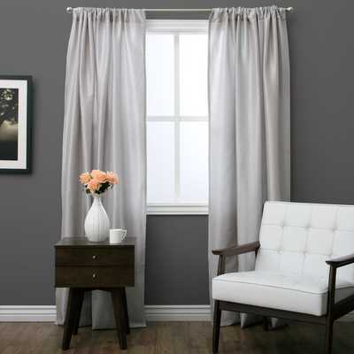 Classic Curtain Panel with Lining - Ivory - Overstock