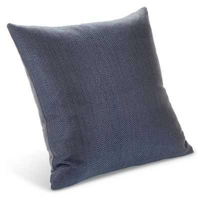 """Draper Pillows - Indigo - 20""""x20"""" - Feather/Down fill - Room & Board"""