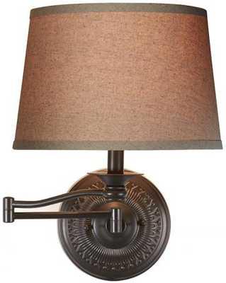 RIVERSIDE SWING-ARM WALL SCONCE - Home Decorators
