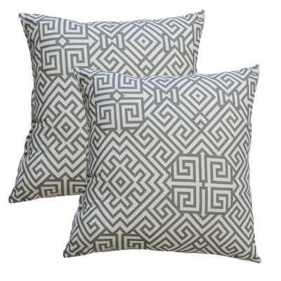 Premiere Home Santorini Summerland Throw Pillow - insert included - AllModern