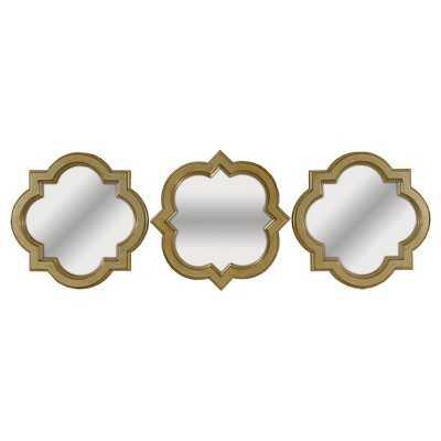 Mirror Set - Light Gold - Set of 3 - Target