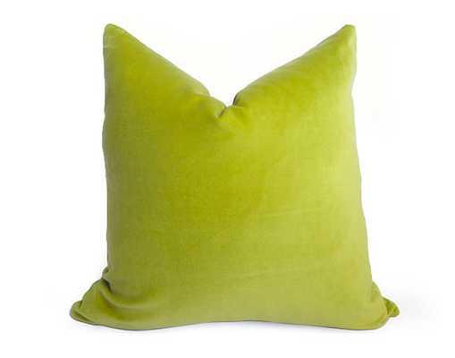Cotton Velvet Pillow Cover 20x20 insert sold separately - Etsy