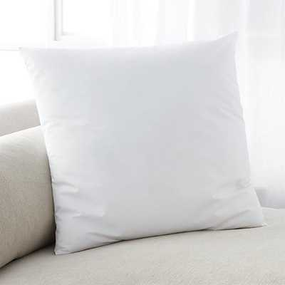 "Down-Alternative 20"" Pillow Insert - Crate and Barrel"