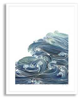 Yao Cheng, Ocean of Waves - One Kings Lane