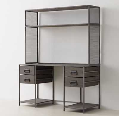 WEXLER STORAGE DESK & HUTCH SET - RH Teen