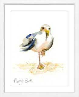 Seagull - Ernie - 21x25 - Framed - One Kings Lane