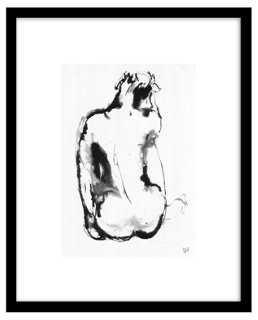 "Bella Pieroni, Figurative I - 16.75"" x 13.5"" - Framed - One Kings Lane"