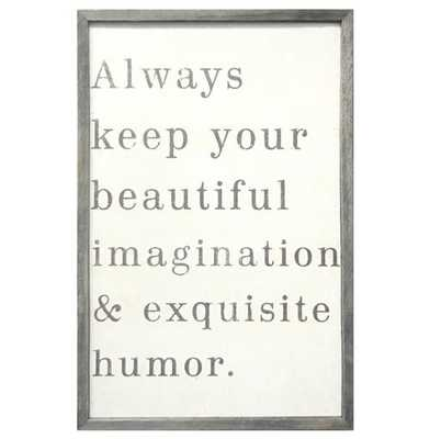 Beauty Imagination Reclaimed Wood Vintage Wall Art/Framed - Kathy Kuo Home