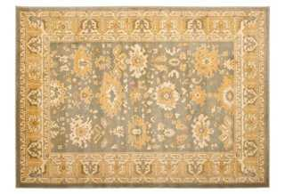 """Alfred Rug, Gold/Gray, 6'7"""" x 9'1"""" - One Kings Lane"""