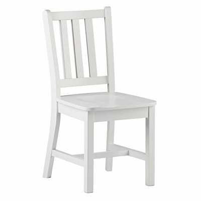 Parker Desk Chair (White) - Land of Nod