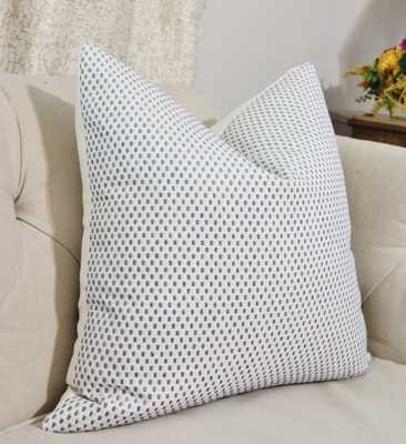 """Hydrangea Pillow Cover - 20""""Sq. - Insert Sold Separately - Etsy"""