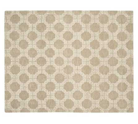 DARRIN TUFTED RUG - TAUPE - 5' x 8' - Pottery Barn