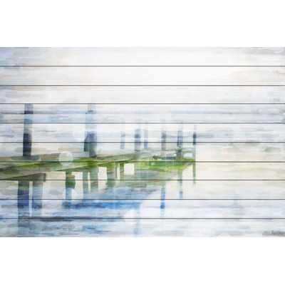 Dock Mist - Art Print - 40x60, Unframed - Wayfair